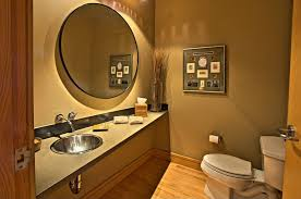 Bathroom Faucets Seattle by Modern Powder Room With Formica Counters U0026 Drop In Sink In Seattle