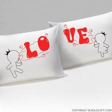 his and hers pillow cases boldloft 2 in bubbling with for you pillowcases