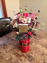 liquor gift baskets i made 2 something like these for our gift