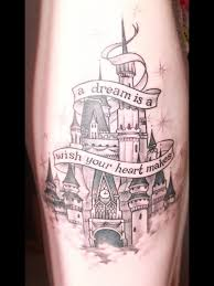 42 best disney castle tattoo images on pinterest tattoo ideas