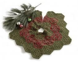 brown tree skirt festive tree skirt crochet lion brand yarn