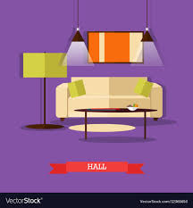 home interior vector set of posters banners with home interior vector image