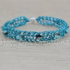 bracelet mesh images Cyan polychrome single mesh bracelet hoot owl creations jpg