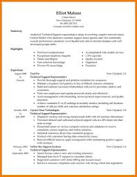 technical support resume samples resume samples and resume help