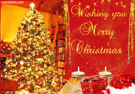 wishing you merry glitter image