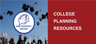 college planning resources homepage
