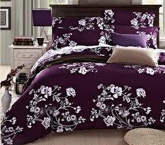 best quality bed sheets wholesale high quality designer bedding set deep purple conforter
