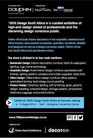 The Interior Design Institute South Africa Exhibit At 100 Design South Africa Iid The African Institute