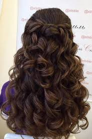 hairstyles for teachers 24 chic half up half down bridesmaid hairstyles bridesmaid