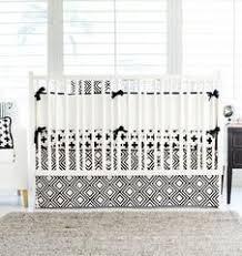 Modern Crib Bedding Olli Lime Modern Crib Bedding Modern Black White Nursery