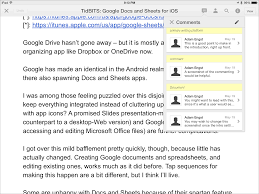 Spreadsheet On Google Docs New Google Docs Sheets Apps Aid Mobile Collaboration Tidbits