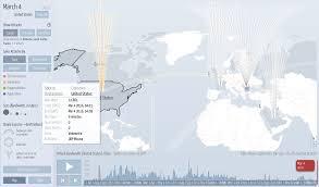 Ddos Map Live Denial Of Service Attacks Ddos Map Michael Horsch Fizz