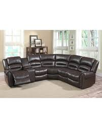 abbyson living bradford faux leather reclining sofa dark brown incredible memorial day sales on connie brown faux leather 6 piece