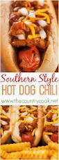 southern style homemade dog chili recipe dog chili