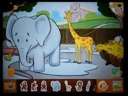 curious george zoo animals deep freeze apps kids