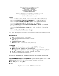 sample of resume in canada awesome collection of oil trader cover letter examples of
