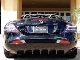 2009 mercedes benz slr mclaren roadster