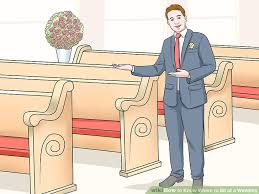 how to at a wedding how to where to sit at a wedding 10 steps with pictures