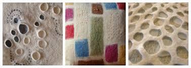fiona duthie surface design in feltmaking online workshop моя