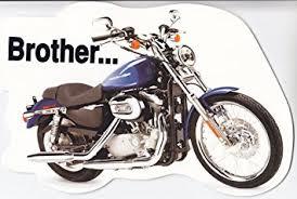 Brother Design Cards Amazon Com Greeting Cards Birthday Harley Davidson