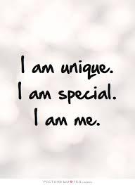 i am unique i am special i am me picture quotes