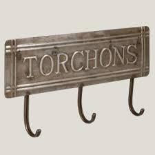 accroche torchons cuisine accroche torchons style bistrot antic line cuisine