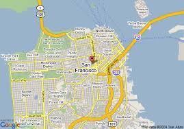 san francisco map downtown map of days inn san francisco downtown civic center area san