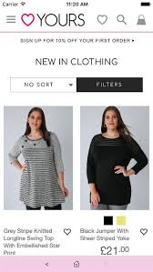 yours clothing buy plus size on the app store