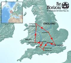 Oxford England Map by Egypt And Rome In England Tour Far Horizons