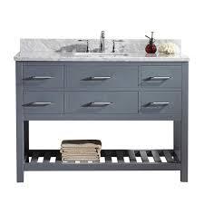 Bathroom Cabinets Sarasota Virtu Usa Caroline Avenue 93 In W X 22 In D X 34 21 In H Zebra