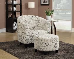 Ottoman Armchair Coaster Home Furnishings 900210 Accent Chair And Ottoman In