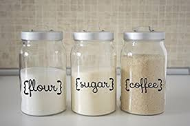 where to buy kitchen canisters kitchen canister decals flour sugar coffee kitchen