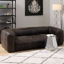 Low Back Leather Sofa Sofas Couches U0026 Loveseats Fair Price Stock Com