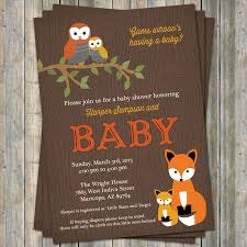 woodland baby shower invitations baby shower invitations woodland baby shower