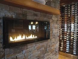 fireplaces stone brick veneer