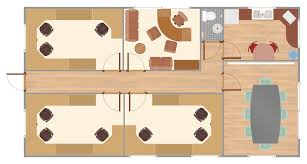 plan and section drawings as well office layout floor plan for