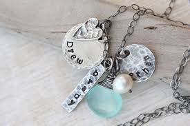 personalized picture necklaces personalized motherhood jewelry and muchael