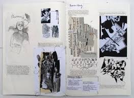 266 best sketchbooks fashion u0026 textiles images on pinterest