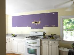 Removing Kitchen Cabinets by White Walls In The Kitchen