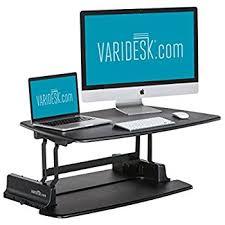 Ideal Height For Standing Desk Amazon Com Varidesk Height Adjustable Standing Desk Pro 30