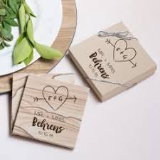 wedding favor coasters coaster wedding favor coaster favors