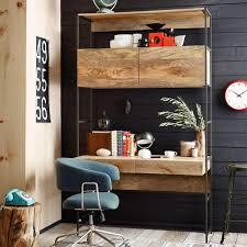 industrial modular 124 cm desk west elm uk