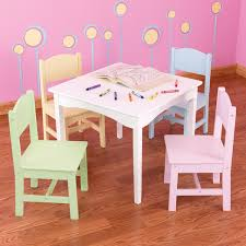kidkraft nantucket 4 piece table bench and chairs set this stylish nantucket table and chair set is great for board games