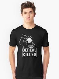 cereal killer t shirt funny foodie shirts halloween shirt