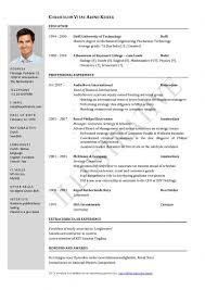 resume templates free download best cv computer science doc cv template doc free download best resume