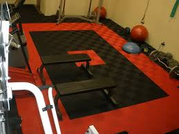 Gym Flooring For Garage by Gym Flooring Swisstrax Premium Garage Flooring Tiles