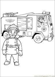 fireman sam 09 coloring free fireman sam coloring pages