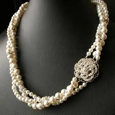 vintage wedding jewelry vintage wedding jewelry pearl bridal necklacetwisted pearl