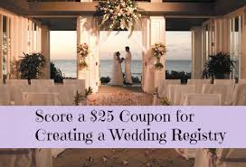 how to create a wedding registry free 25 kohl s coupon for creating wedding registry free bridal