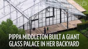 see pippa middleton u0027s giant glass reception tent